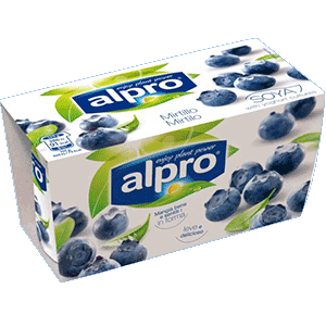 Alternativa Vegetale allo Yogurt Alpro Mirtillo
